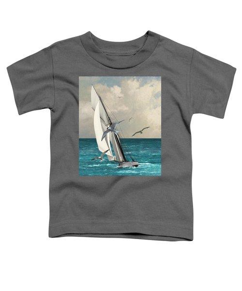 Sailing Southern Seas Toddler T-Shirt