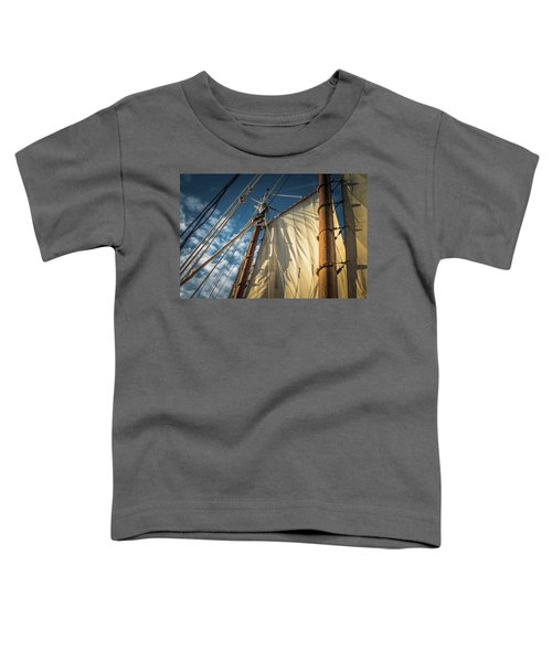 Sails In The Breeze Toddler T-Shirt
