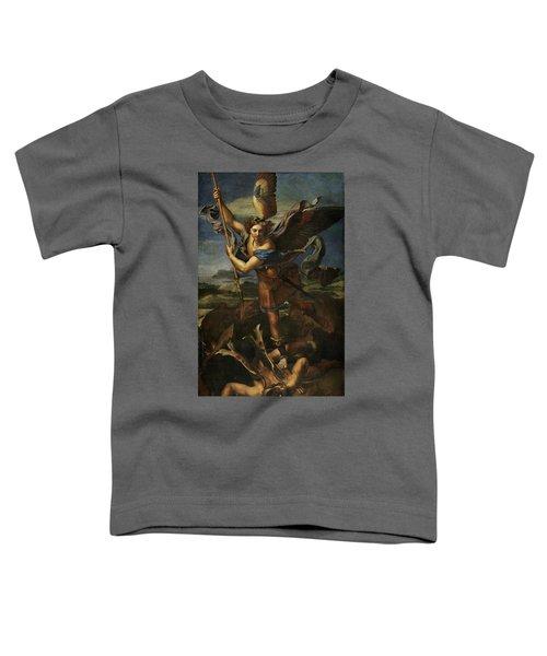 Saint Michael Defeats Satan Toddler T-Shirt