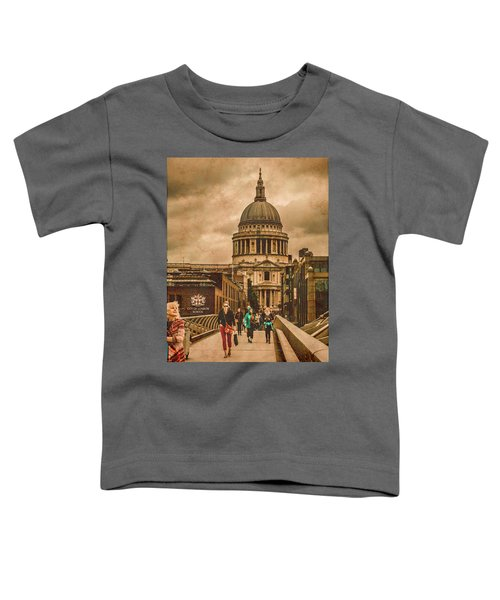 London, England - Saint Paul's In The City Toddler T-Shirt