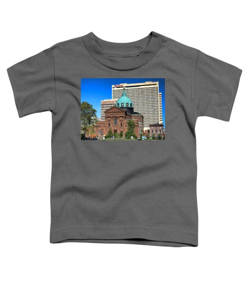 Saints Peter And Paul And Sheraton Hotel In Philadelphia  Toddler T-Shirt