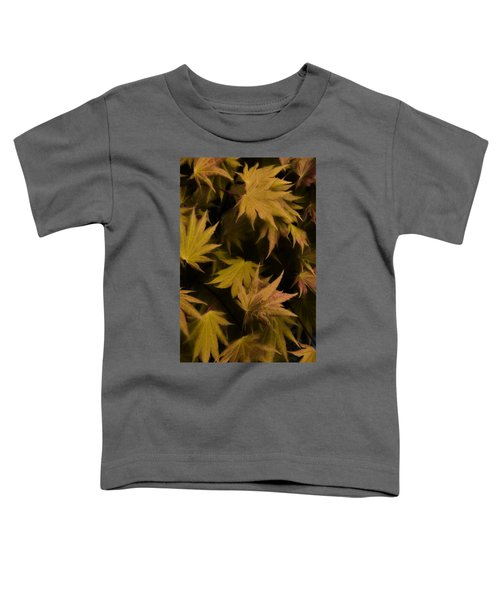 Japanese Autumn  Toddler T-Shirt by Mike Nellums