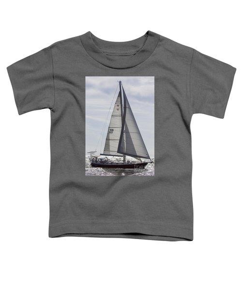 Saling Yacht Valkyrie Charleston Sc Toddler T-Shirt