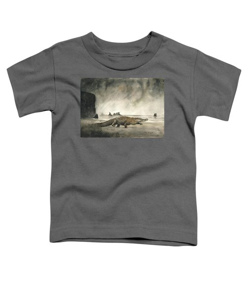 Saltwater Crocodile Toddler T-Shirt