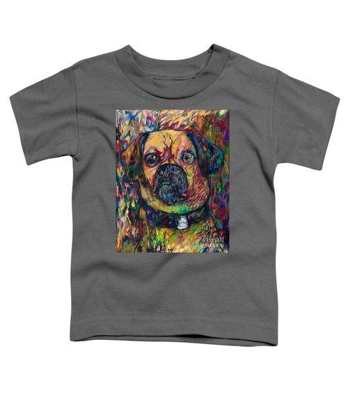 Sam The Dog Toddler T-Shirt
