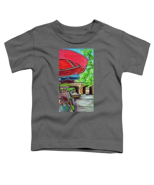 San Antonio River Walk Cafe Toddler T-Shirt