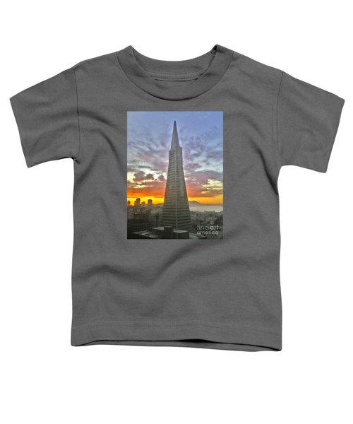 San Francisco Pyramid Toddler T-Shirt