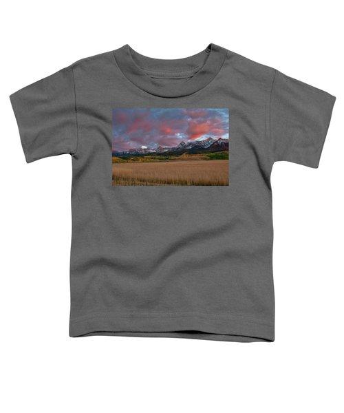San Juan Sunset Toddler T-Shirt