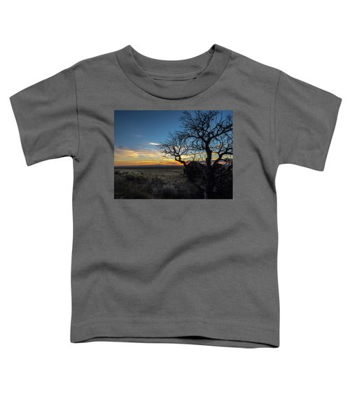 San Luis Valley Sunset - Colorado Toddler T-Shirt