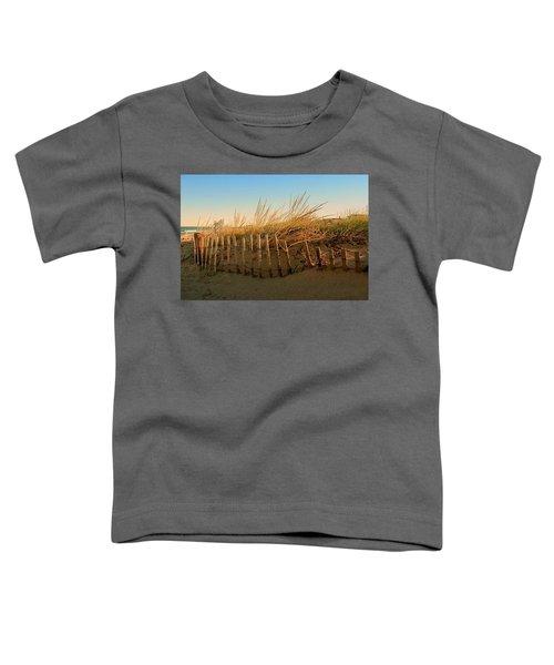 Sand Dune In Late September - Jersey Shore Toddler T-Shirt