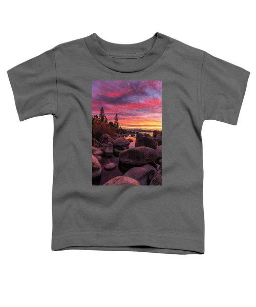 Sand Harbor Beach Toddler T-Shirt