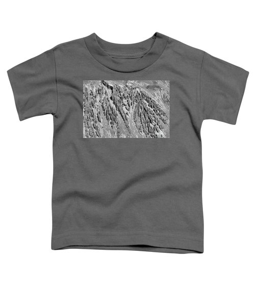 Sands Of Time Monochrome Art By Kaylyn Franks  Toddler T-Shirt