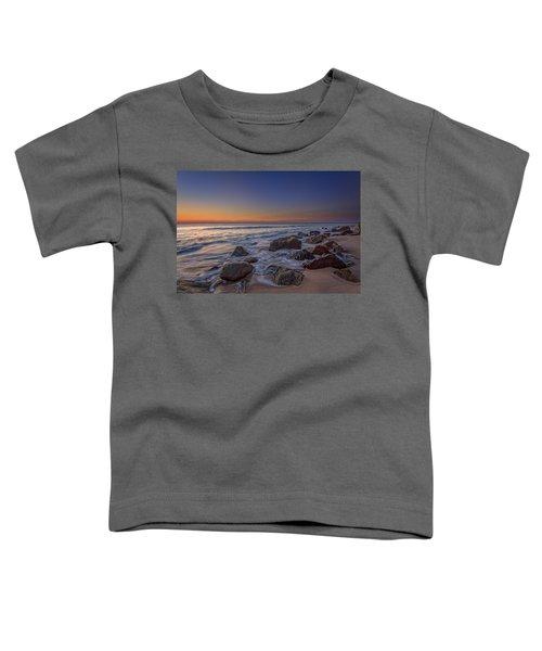 Sandy Hook At Sunrise Toddler T-Shirt