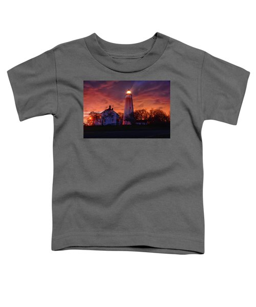 Sandy Hook Lighthouse Toddler T-Shirt
