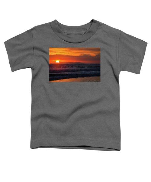 Santa Catalina Island Sunset Toddler T-Shirt