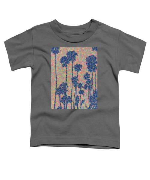 Santa Monica Toddler T-Shirt