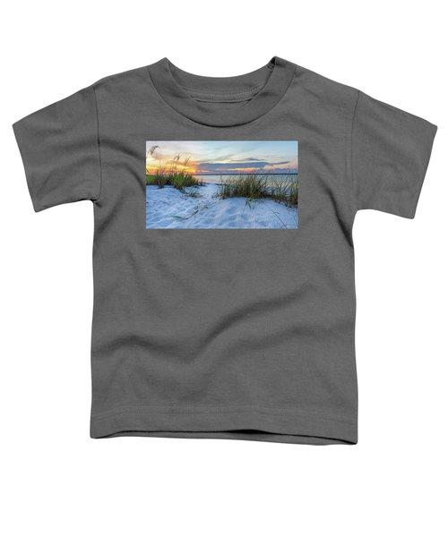 Santa Rosa Sound Sunset Toddler T-Shirt