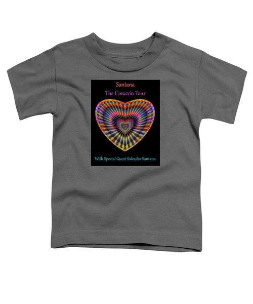 Santana The Corazon Tour Toddler T-Shirt