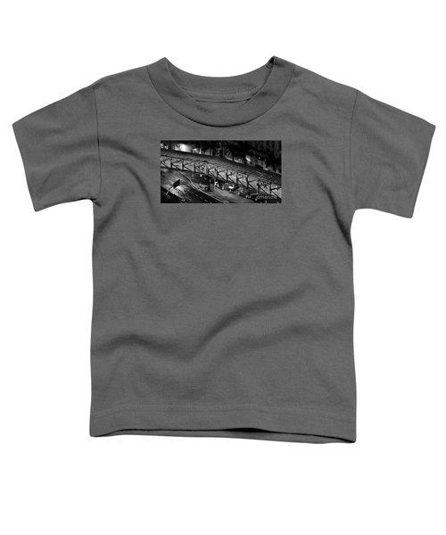 Sao Paulo - Metallic Footbridge At Night Toddler T-Shirt