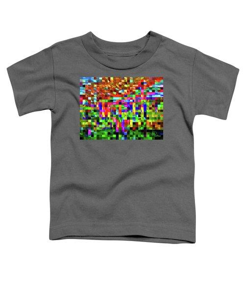 Satin Tiles Toddler T-Shirt