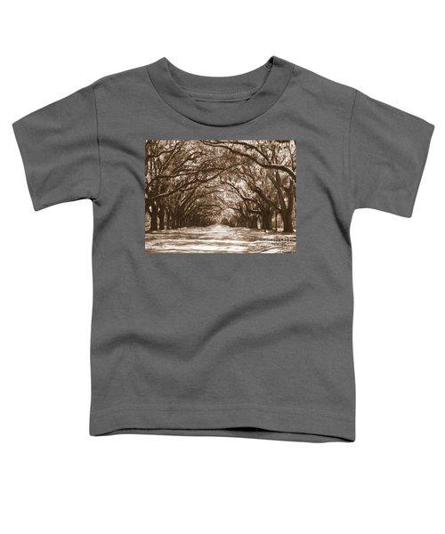 Savannah Sepia - Glorious Oaks Toddler T-Shirt