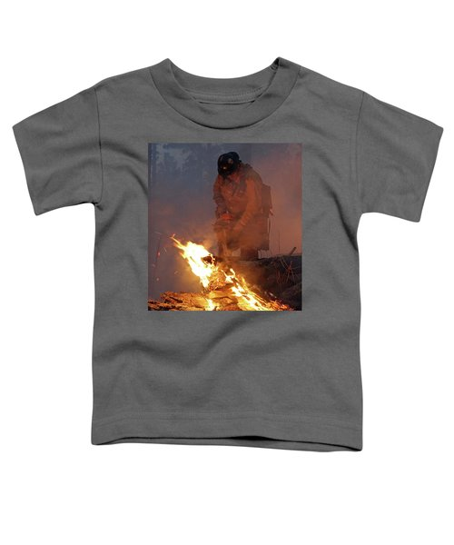 Sawyer, North Pole Fire Toddler T-Shirt