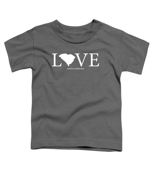 Sc Love Toddler T-Shirt by Nancy Ingersoll