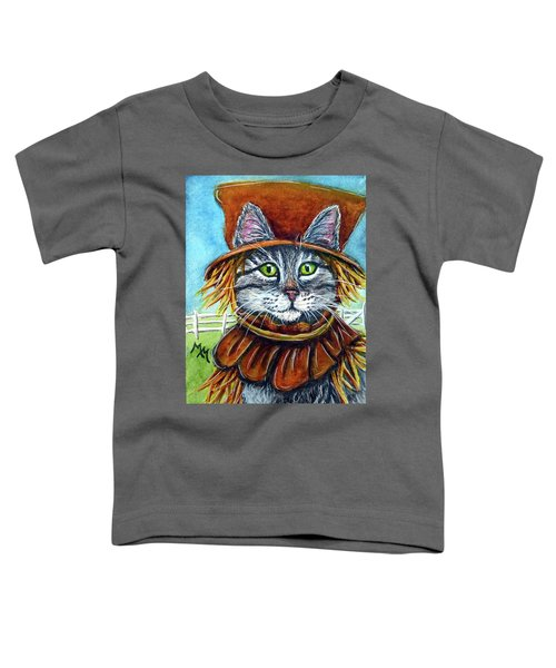 Scarecrow Tabby Toddler T-Shirt