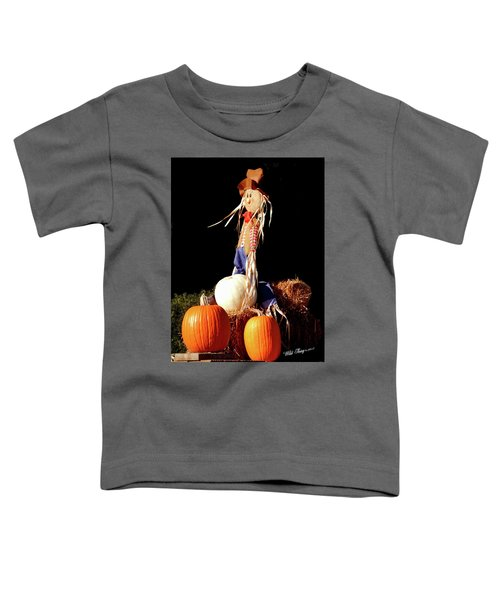 Scaredy Crow Man Toddler T-Shirt