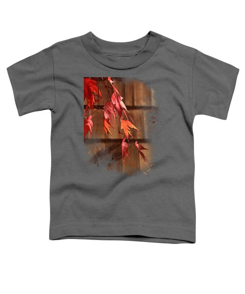 Scarlet Cascade Toddler T-Shirt