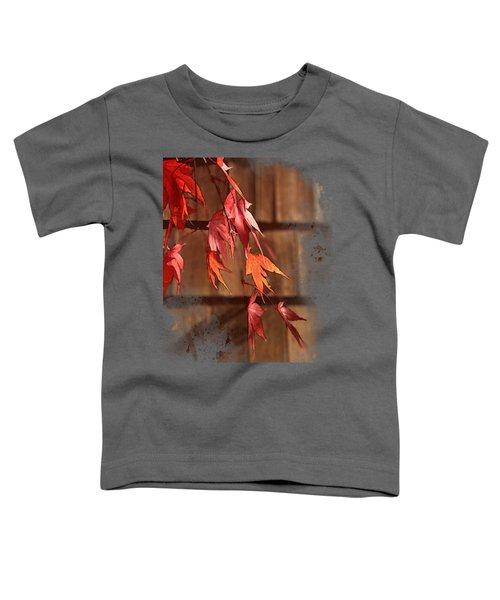 Scarlet Cascade Toddler T-Shirt