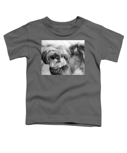 Scarlett B And W Toddler T-Shirt