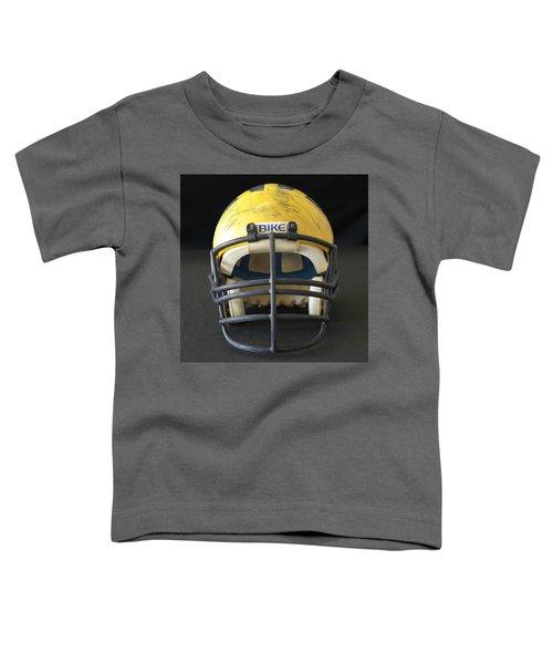 Scarred 1980s Wolverine Helmet Toddler T-Shirt