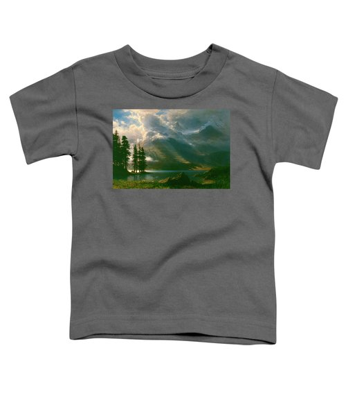 Scenery In The Grand Tetons Toddler T-Shirt