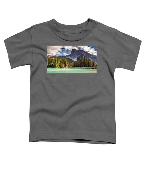Scenic Emerald Lake  Toddler T-Shirt