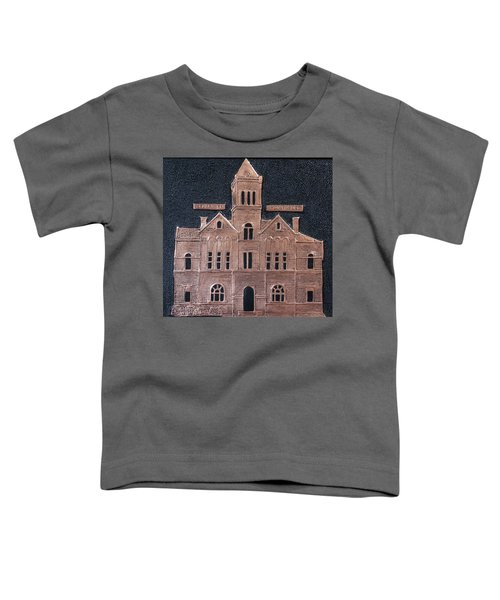 Schley County, Georgia Courthouse Toddler T-Shirt