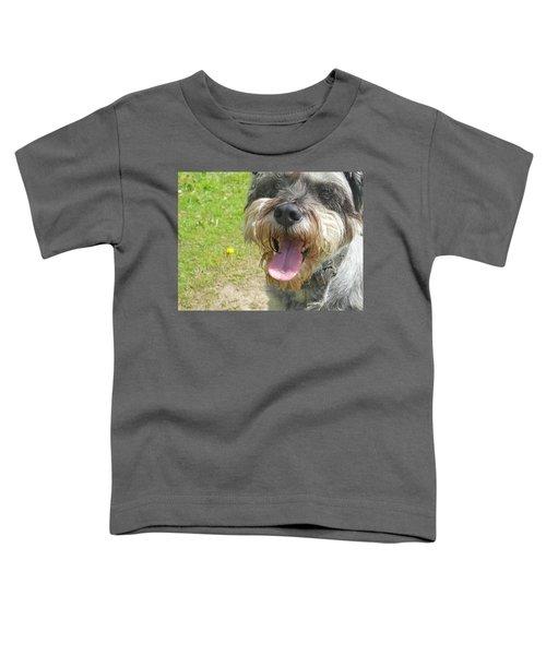 Schnauzer  Toddler T-Shirt