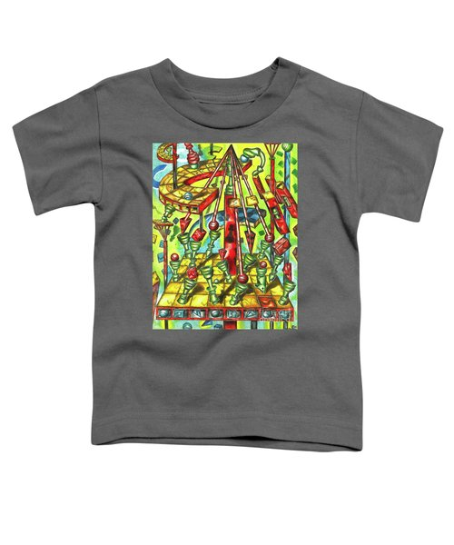 Science Of Chess Toddler T-Shirt