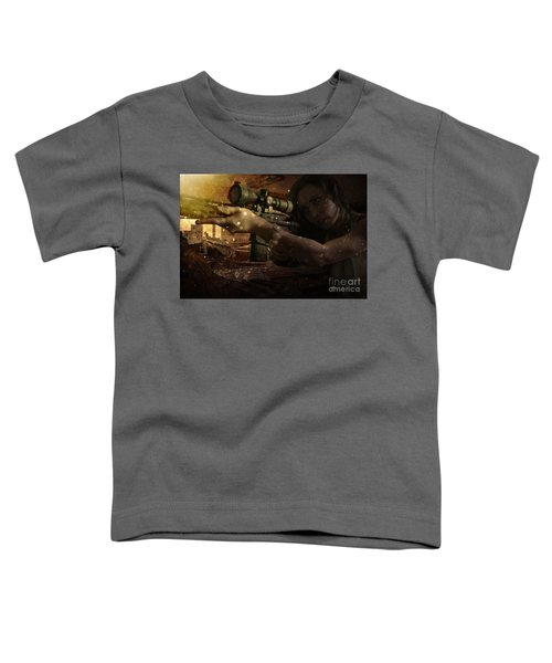 Scopped Toddler T-Shirt