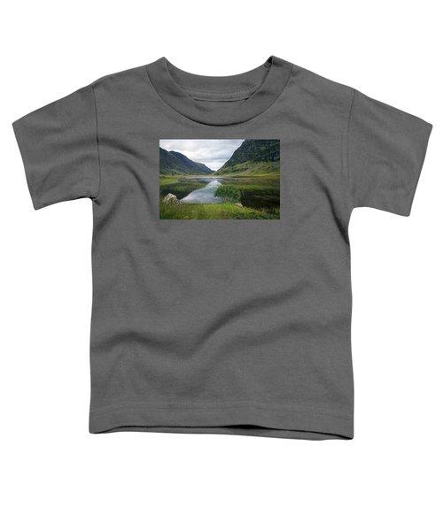 Scottish Tranquility Toddler T-Shirt by Dubi Roman