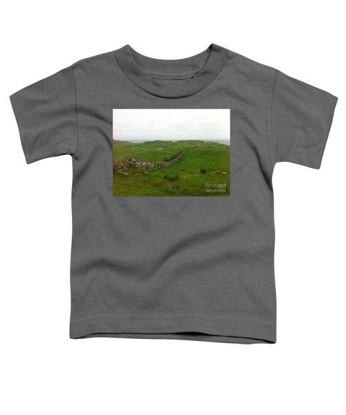 Scottish Wall Toddler T-Shirt