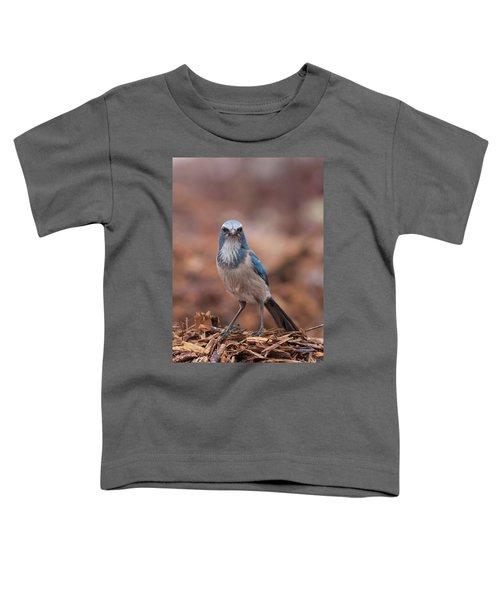Scrub Jay On Chop Toddler T-Shirt