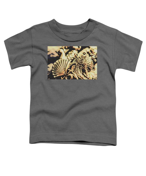 Sea Abstract From The Nautics  Toddler T-Shirt