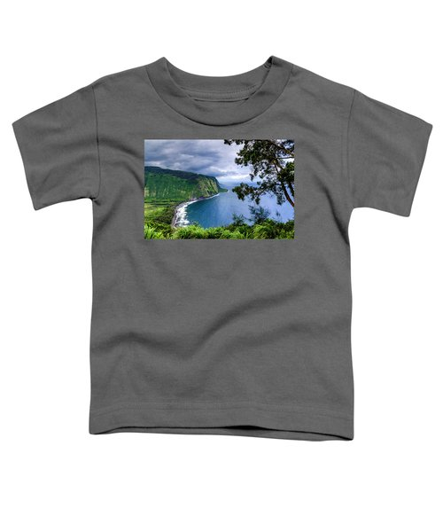 Sea Cliffs Toddler T-Shirt