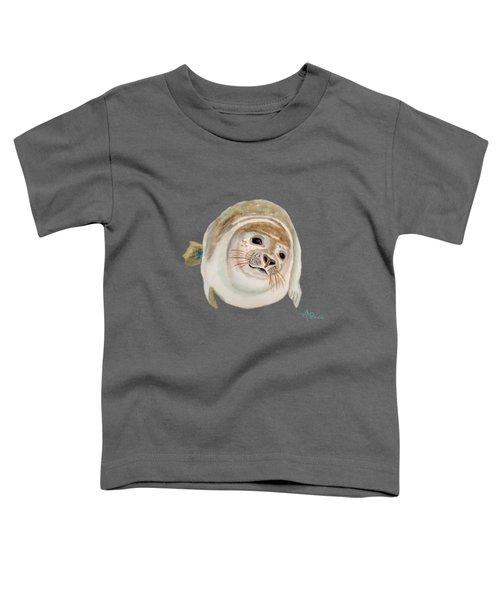 Sea Lion Watercolor Toddler T-Shirt