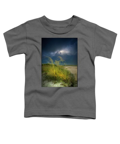 Sea Oats In The Storm Toddler T-Shirt