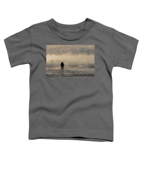 Sea Smoke Thinking Man Toddler T-Shirt