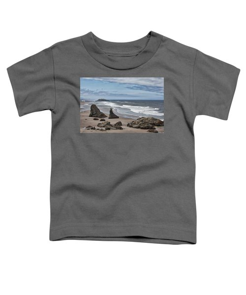 Sea Stacks And Surf Toddler T-Shirt