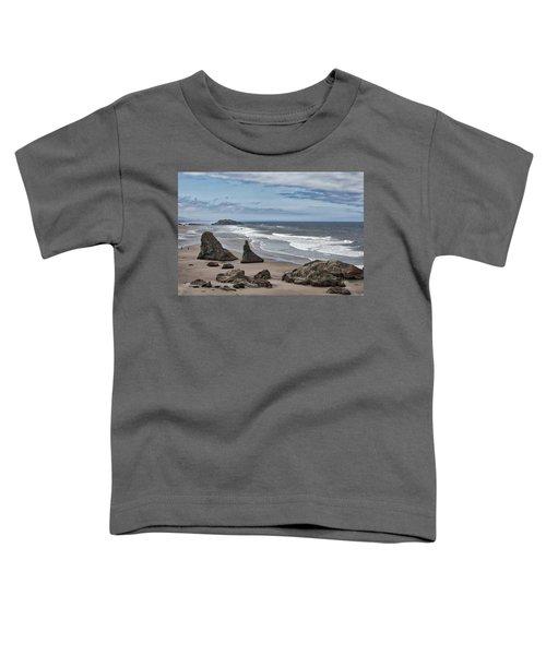 Sea Stacks And Surf Toddler T-Shirt