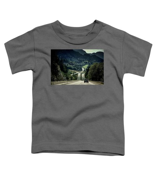 Sea To Sky Highway Toddler T-Shirt